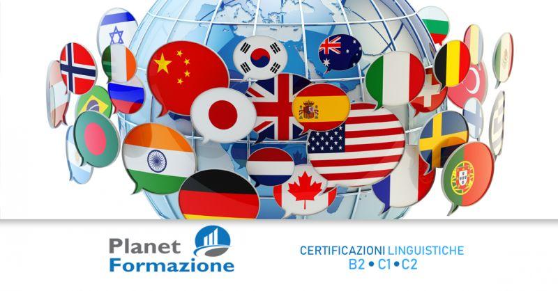 PLANET FORMAZIONE - offerta certificazioni linguistiche B2 C1 C2 Contursi Salerno
