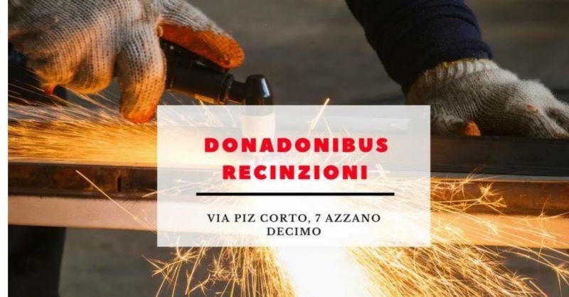 Donadonibus Recinzioni offerta recinzioni su misura - occasione installazione cancelli e box