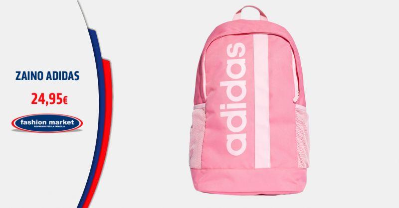 Offerta Zaino Rosa Adidas Donna - Occasione Vendita Zaini Scuola Adidas Trefoil