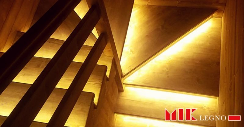 Mik Legno offerta realizzazione scale su misura - offerta scale a chiocciola, a trave, a sbalzo