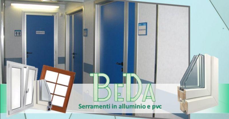BEDA - Promozione produzione installazione porte in alluminio per uffici abitazioni Verona