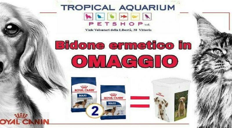TROPICAL AQUARIUM PETSHOP SRL offerta mangime per cani - occasione crocchette per cani Ragusa