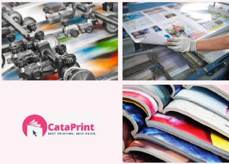 CataPrint - offerta servizio realizzazione stampa specializzata cataloghi riviste per aziende