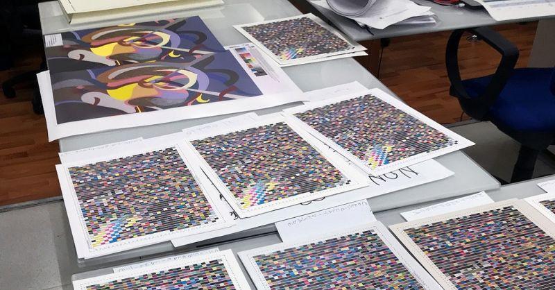 PrintLitoArt Offerta piattaforma online stampa la copia della tua opera d'arte con un click