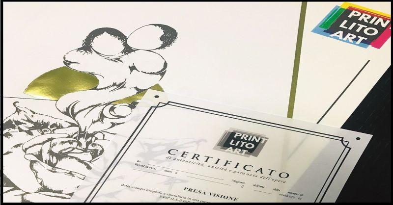 PrintLitoArt offerta servizio online stampa litografica - Promozione stampe litografia