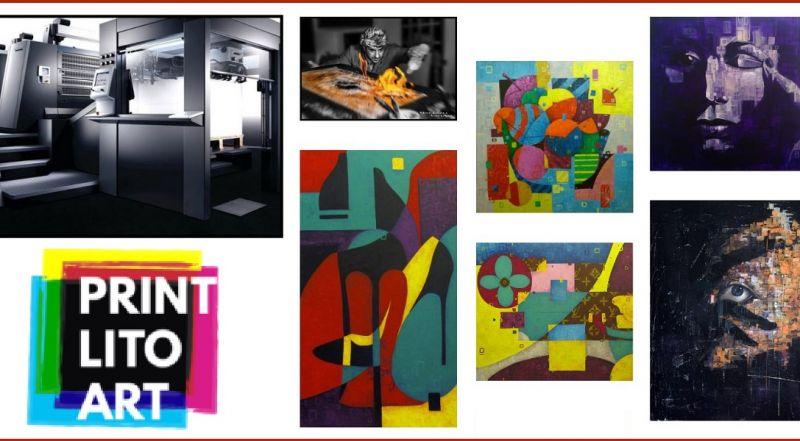 PrintLitoArt offer online service of artwork printing - Promotion online printing platform