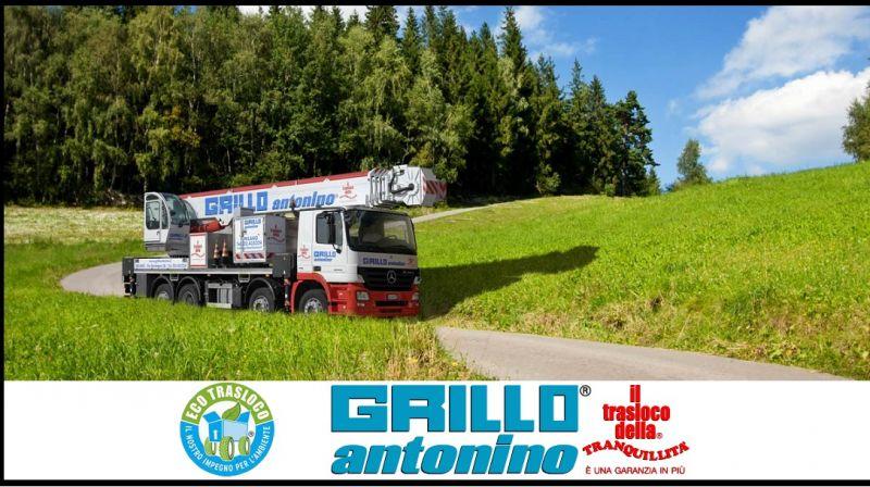 Grillo Traslochi - promoción de servicios completos para mudanzas internacionales ITALIA