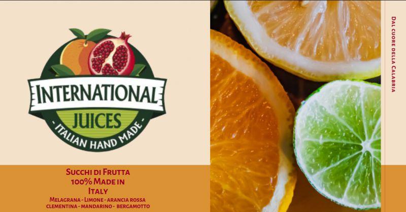 International Juices promozione semilavorati frutta italiani - offerta lavorati frutta calabria