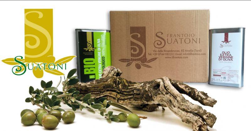 IL FRANTOIO DI SUATONI - Occasione vendita olio bio extravergine d'oliva umbro made in Italy