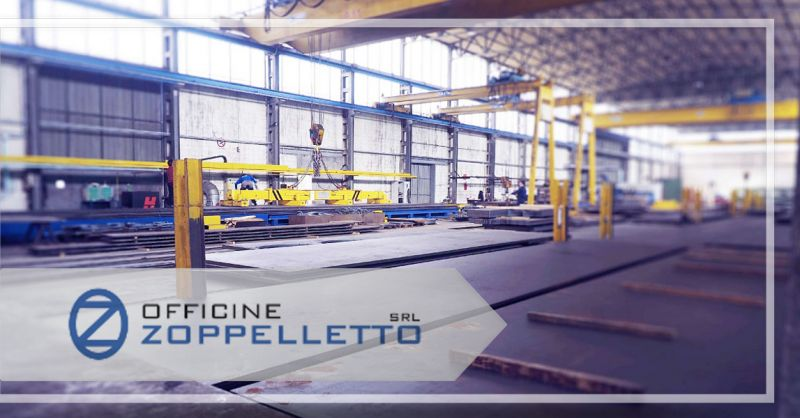 Officine Zoppelletto Srl - Occasione servizio professionale Taglio al plasma e Taglio laser