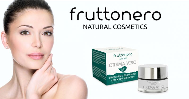 Fruttonero offerta crema viso bio con acido ialuronico - occasione creme naturali per il viso