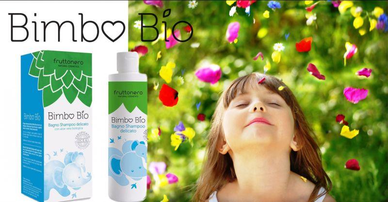 Fruttonero offerta Shampoo bambini certificato Bio - occasione prodotti bagno bimbo naturali