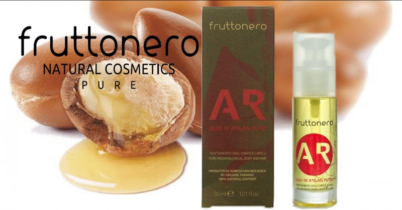 Fruttonero offerta olio di Argan puro pelli mature - occasione anti age pelle tonica e luminosa