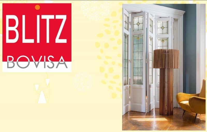 Blitz Bovisa offerta Skitsch Woodfloor lamp - occasione vendita lampada da terra