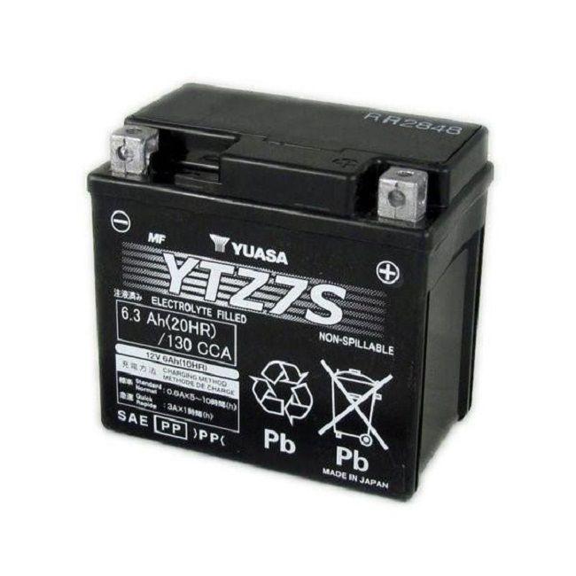offerta vendita batteria yuasa ytz 12v 6,3 ah cca130a - occasione vendita batteria moto