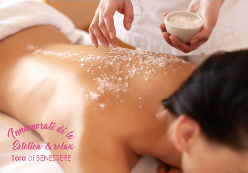 INNAMORATI DI TE estetica e relax offerta massaggio svedese 60 minuti - promo massaggio relax