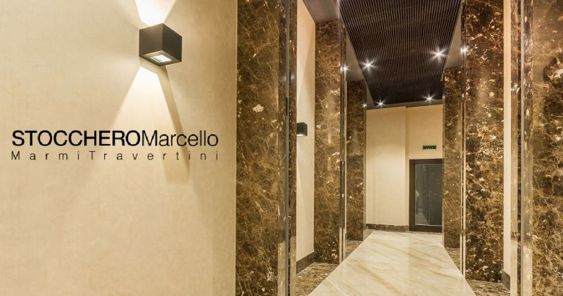 Stocchero Marcello OFFERS the production and sales of Botticino Marble sheets for floors italy