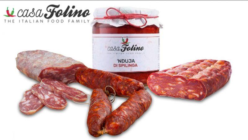 Offerta salumi calabresi - promozione soppressata piccante calabrese - offerta nduja calabria
