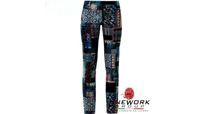 Linework group offerta pantalone da divisa - occasione pantalone estetista fantasia Napoli
