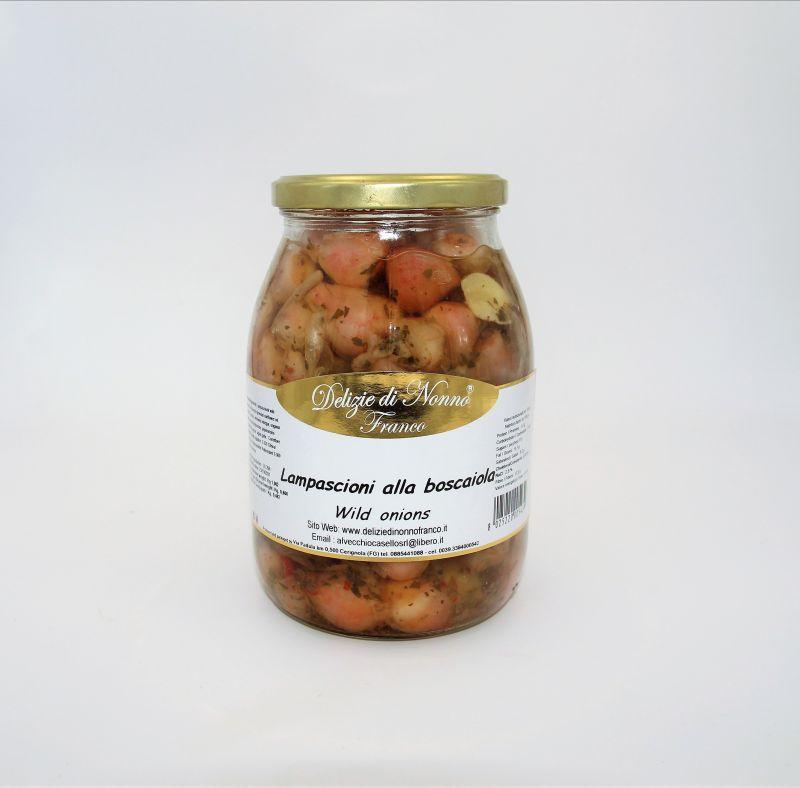 Offerta sott'olio - Wild onions - Offerta Lampascioni - Cipolle selvatiche