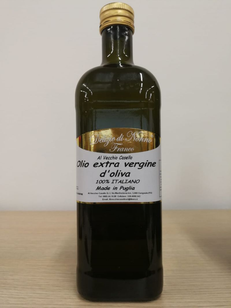 Offerta Olio extra vergine di oliva grezzo 100% Italiano - extra virgin olive oil 100% Italy