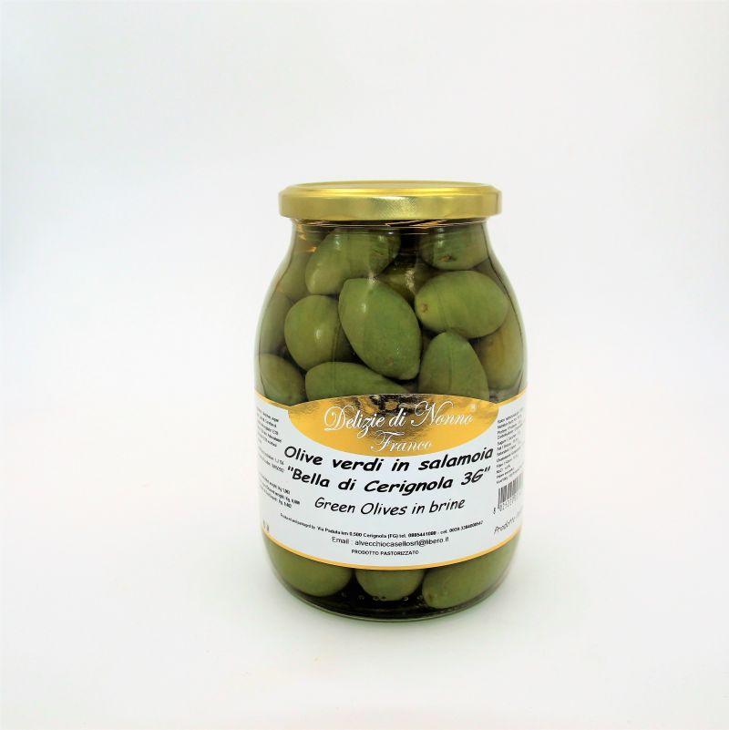 offerta Olive verdi Bella di Cerignola  - offerta Olive da tavola - offerta olive