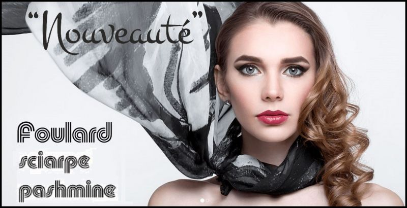 Nouveauté - Offer Made in Italy handicraft company producing personalized scarves and pashminas