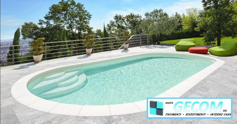 GECOM - offerta vendita e installazione di piscine interrate Valeggio sul Mincio Verona