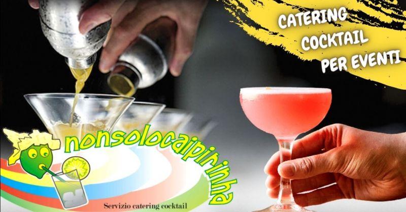 Offerta catering open bar professionale Verona provincia - Occasione servizio angolo bar per feste Verona