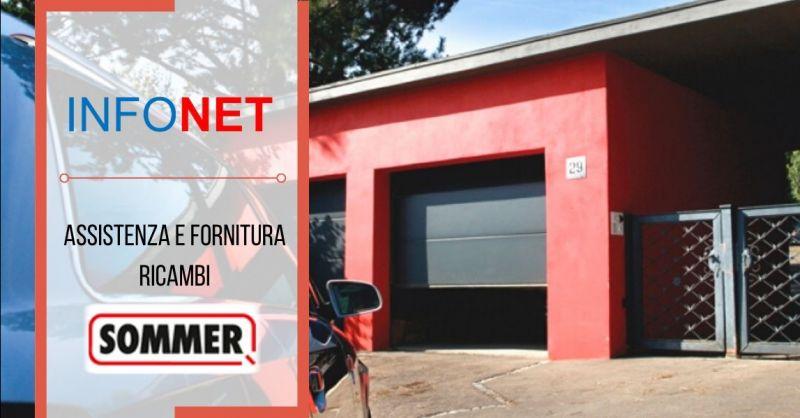 Promozione assistenza ricambi motori Sommer Vicenza - offerta vendita telecomandi Sommer Verona