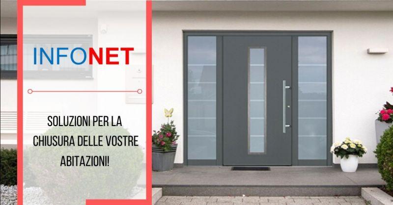 Offerta portoncini in alluminio GROKE Vicenza - occasione vendita porte d'ingresso blindate