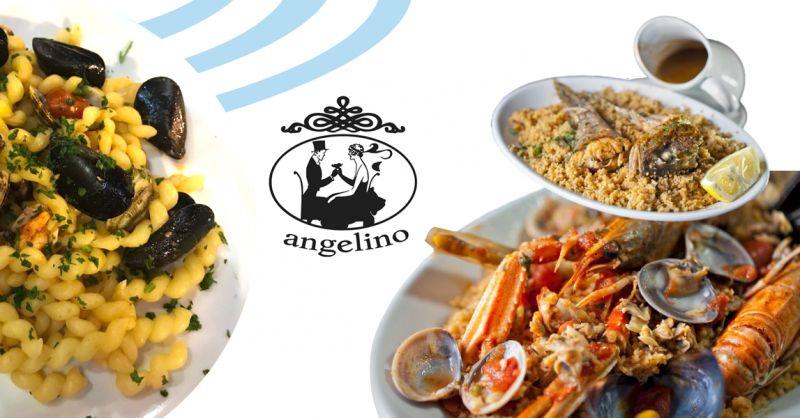ANGELINO offerta locale gastronomia siciliana trapani - occasione cous cous pesce busiate