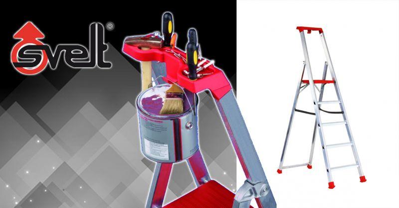 Offerta Scala Doppia in alluminio Bergamo - Occasione Scala MAREA LIGHT ad uso domestico in alluminio