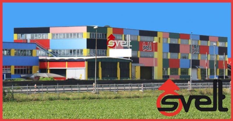 SVELT SPA - Trova la migliore azienda Italiana produzione scale e trabattelli professionali