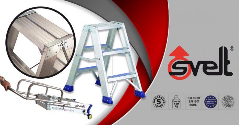 SVELT SPA - Offerta vendita online scala modello PUNTO S gamma sicura produzione made in Italy