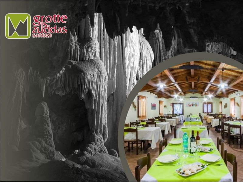 promozione ristorante sardegna - offerta agriturismo sardegna - grotte is zuddas santadi